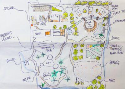 Un stage permaculture en fin d'hiver…. au Viel Audon