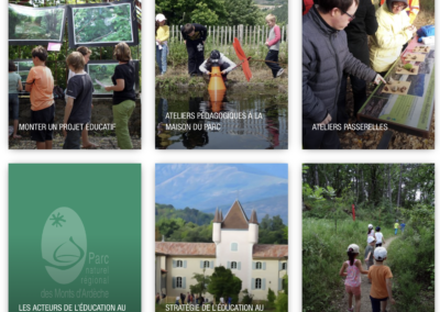 Les ateliers passerelles du PNR des Monts d'Ardèche