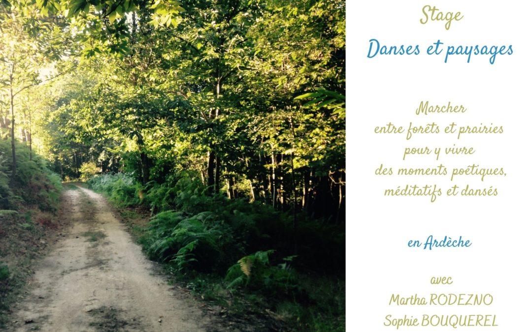 Danses et paysages