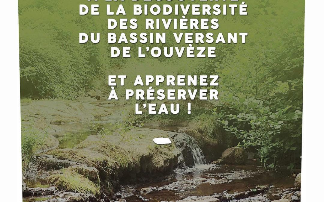 Partez à la découverte de la biodiversité des rivières du bassin versant de l'Ouvèze