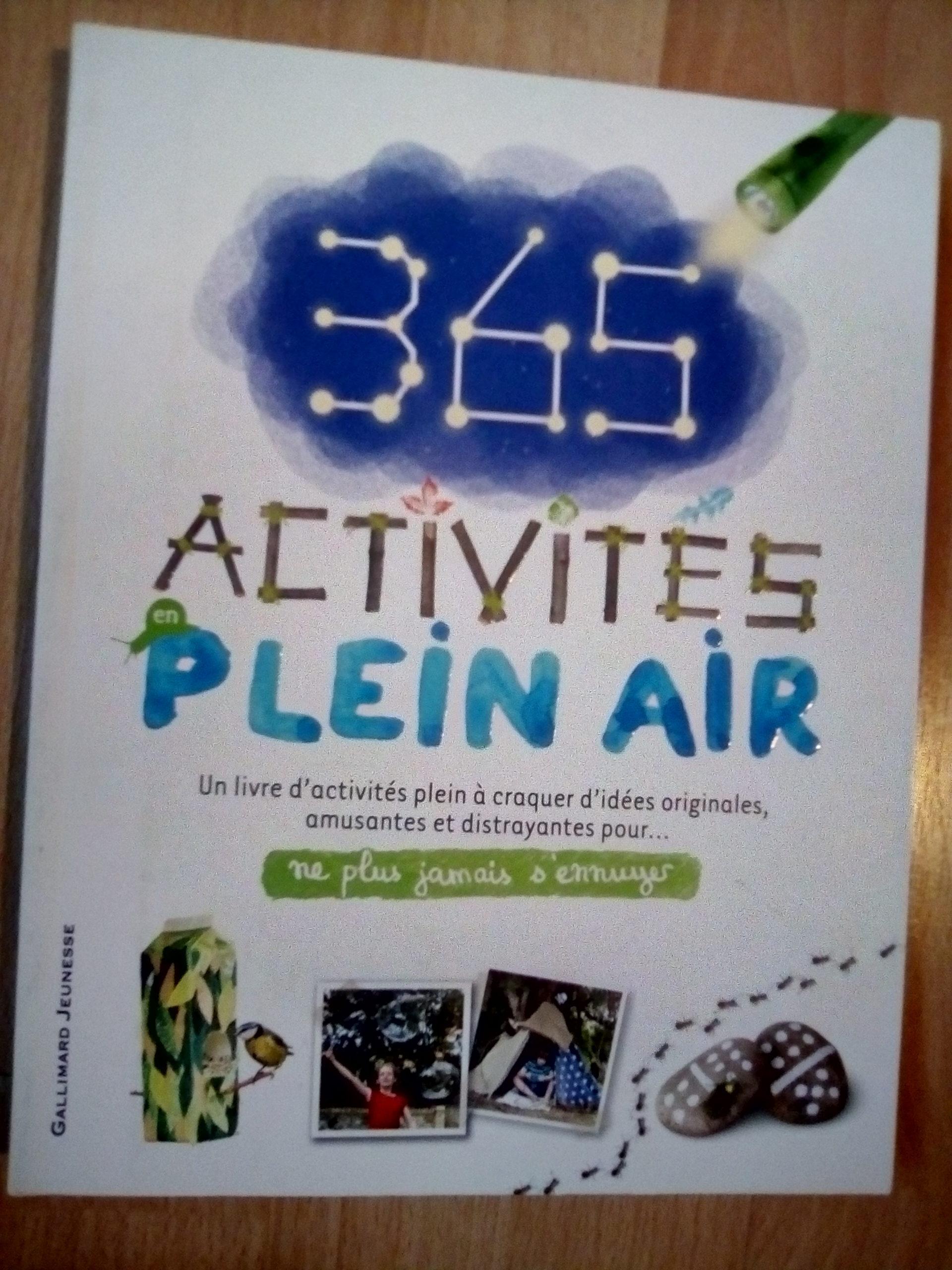 365 activités plein air