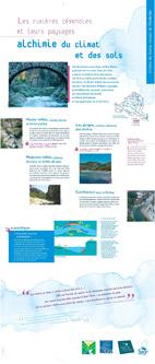 Exposition sur les rivières du bassin versant de l'Ardèche