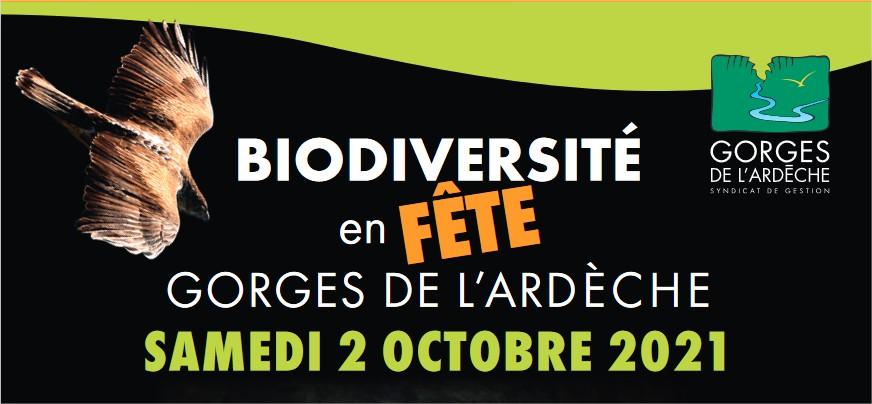 Biodiversité en fête ! Gorges de l'Ardèche