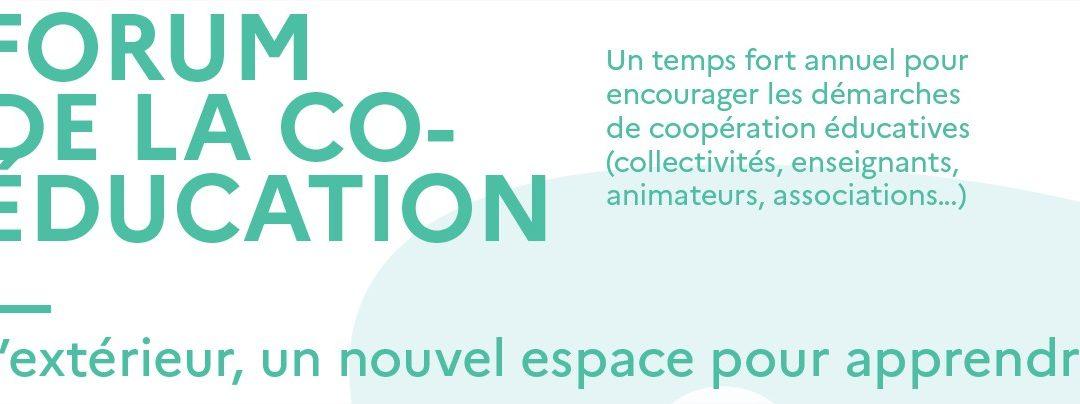 Forum de la coéducation 20/10/2021